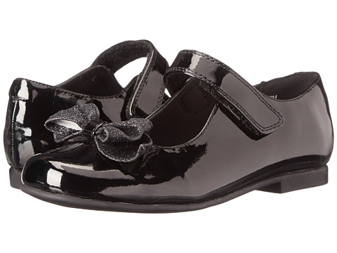 Rachel Kids - Crystal 2 (Little Kid) (Black Patent) Girls Shoes