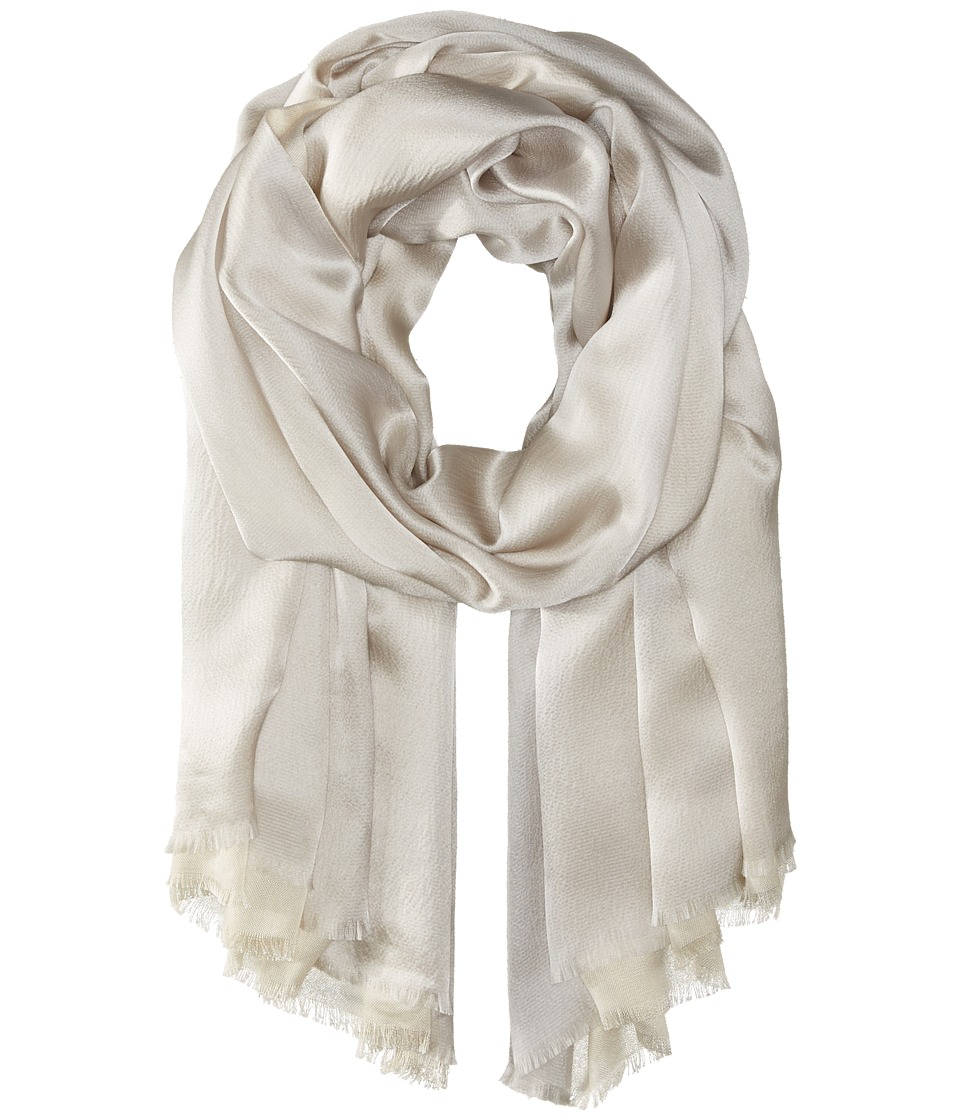 Echo Design - Hammered Silk Wrap (Grey) Scarves