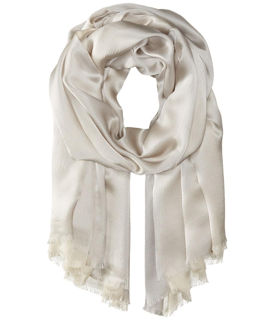 Echo Design - Hammered Silk Wrap (Grey) Scarves