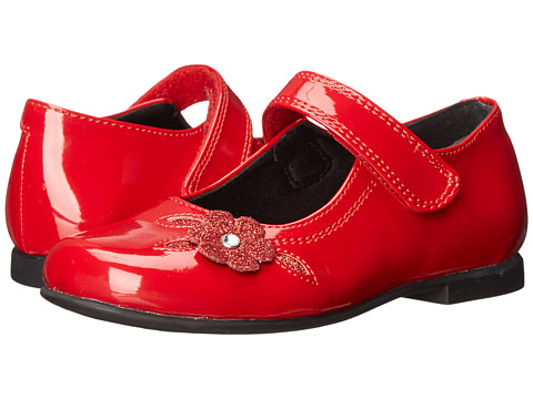 Rachel Kids - Lil Charlene (Toddler) (Red Patent) Girls Shoes