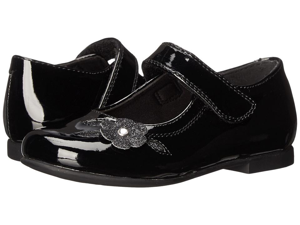 Rachel Kids - Lil Charlene (Toddler) (Black Patent) Girls Shoes