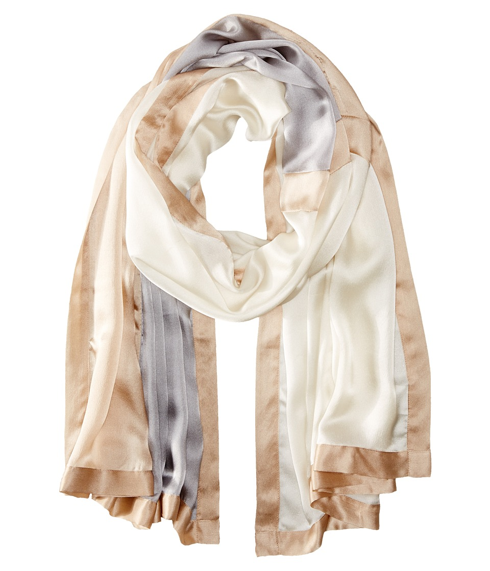 Echo Design - Colorblock Wrap (Whipped Cream) Scarves