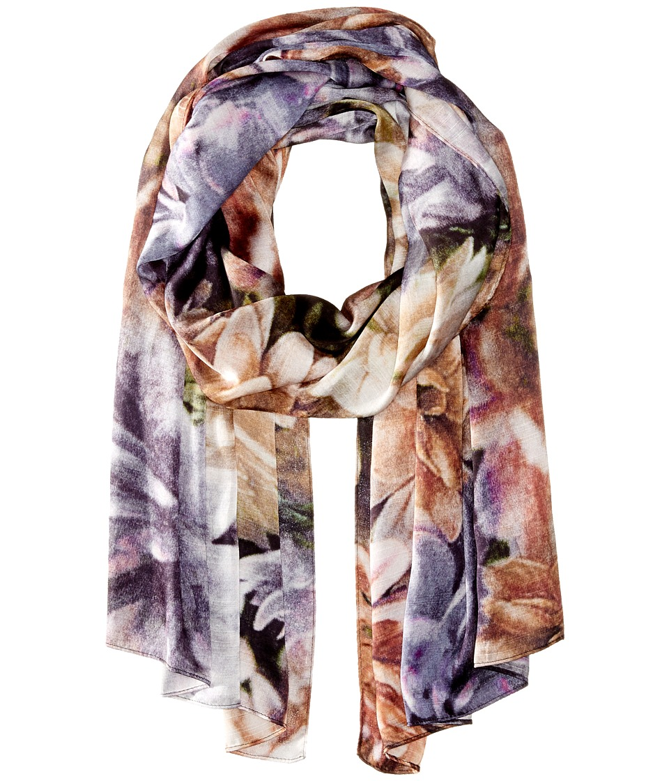 Echo Design - Autumn Dahilia (Black) Scarves
