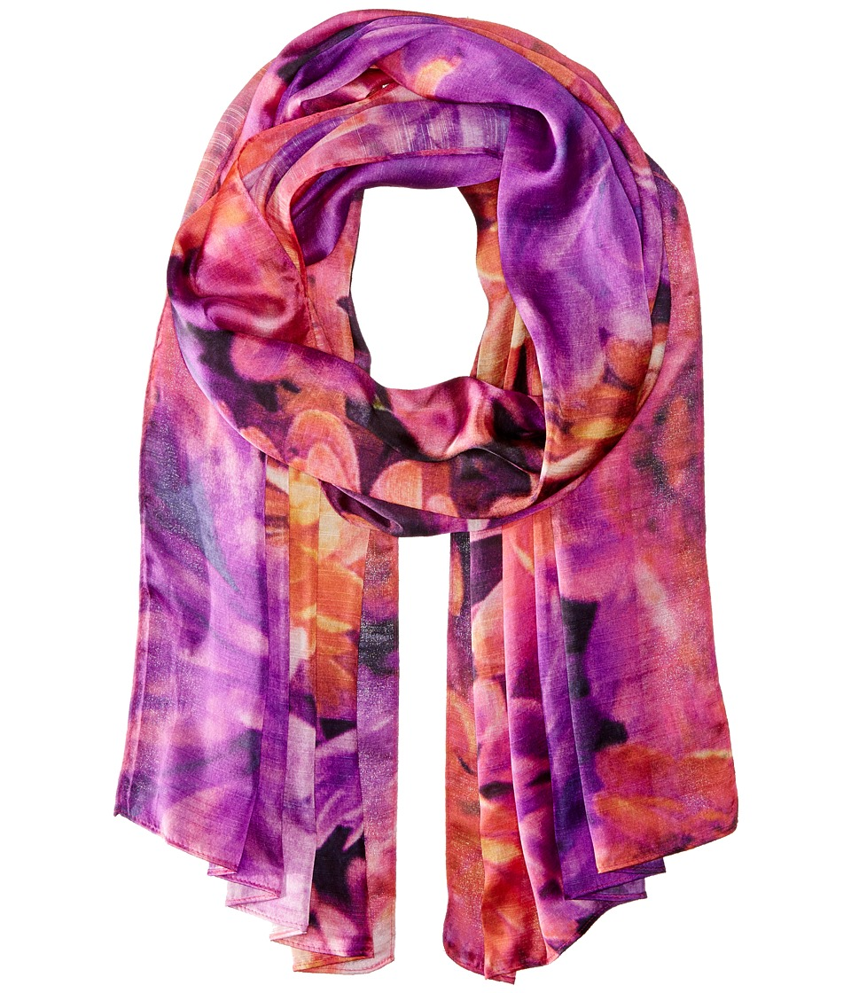 Echo Design - Autumn Dahilia (Forest Berry) Scarves