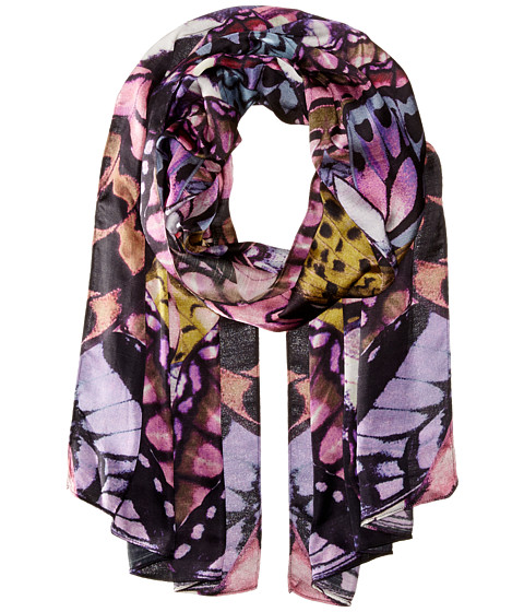 Echo Design - Butterfly Wings Oblong (Forst Berry) Scarves