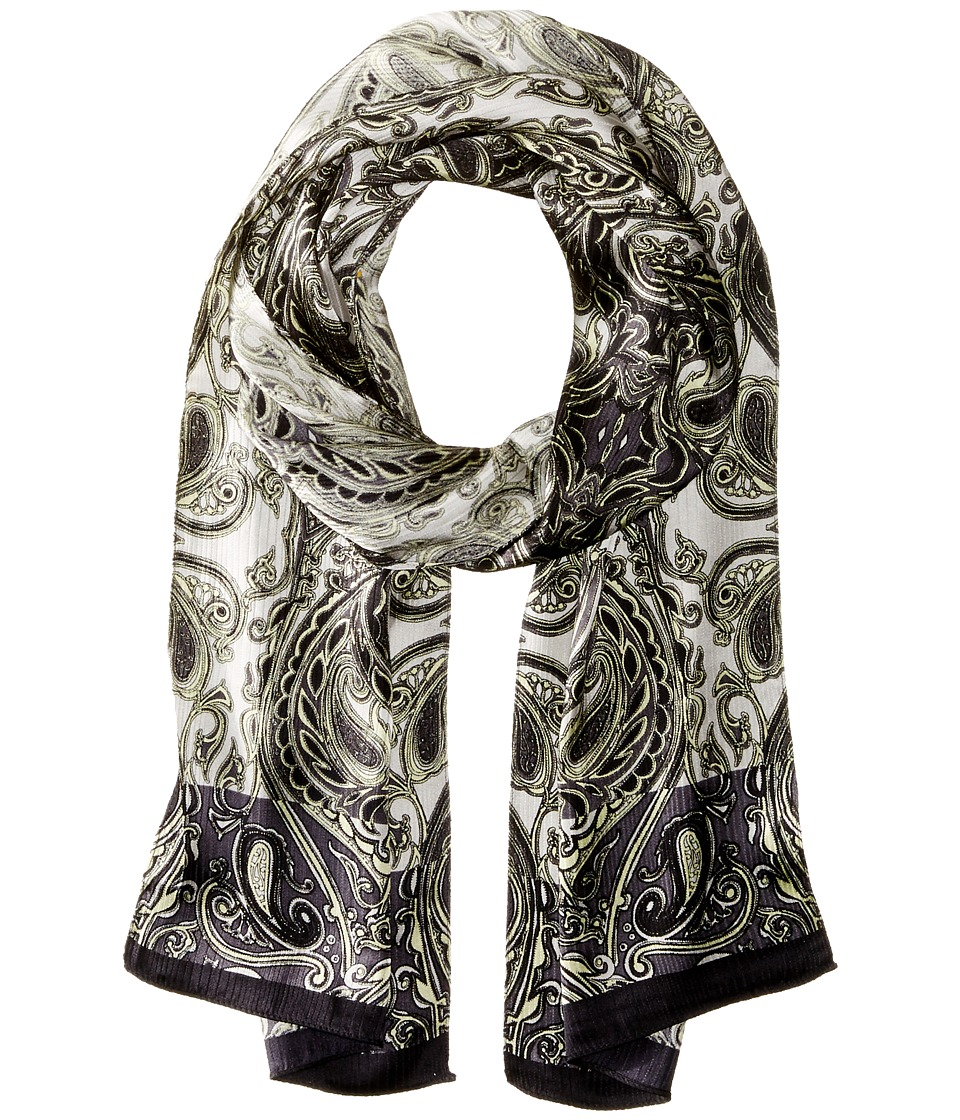 Echo Design - Paisley in the Woods Oblong (Black) Scarves