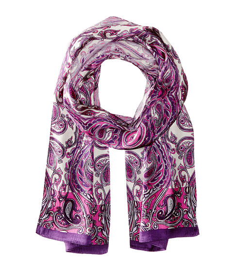 Echo Design - Paisley in the Woods Oblong (Forest Berry) Scarves