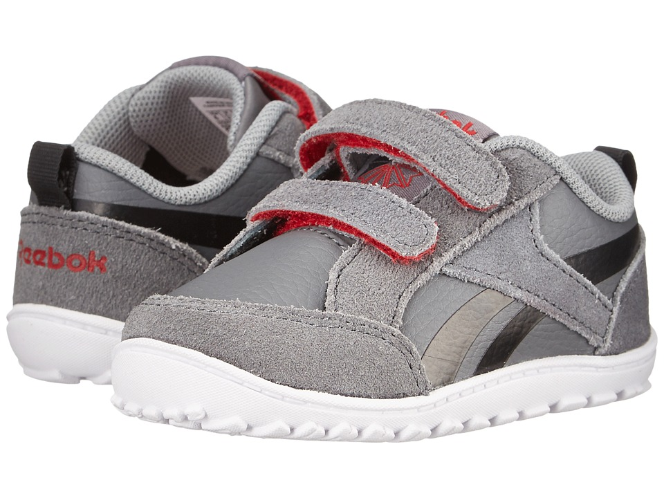 Reebok Kids - VentureFlex Chase (Infant/Toddler) (Shark/Black/White/Red Rush/Flat Grey) Boys Shoes