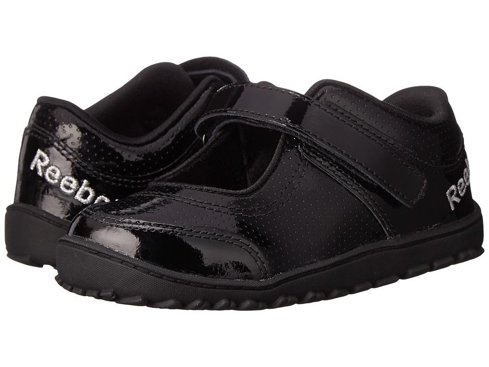 Reebok Kids - VentureFlex Mary Jane (Infant/Toddler) (Black/Charged Pink) Girls Shoes