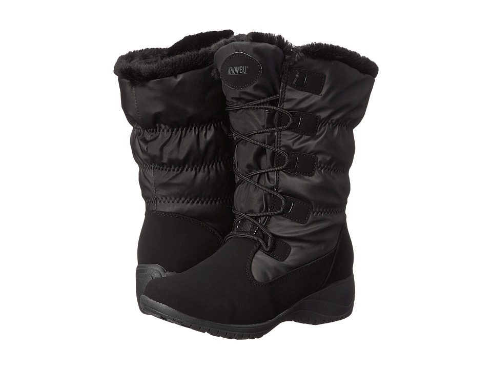 Khombu - Anne (Black) Women's Boots