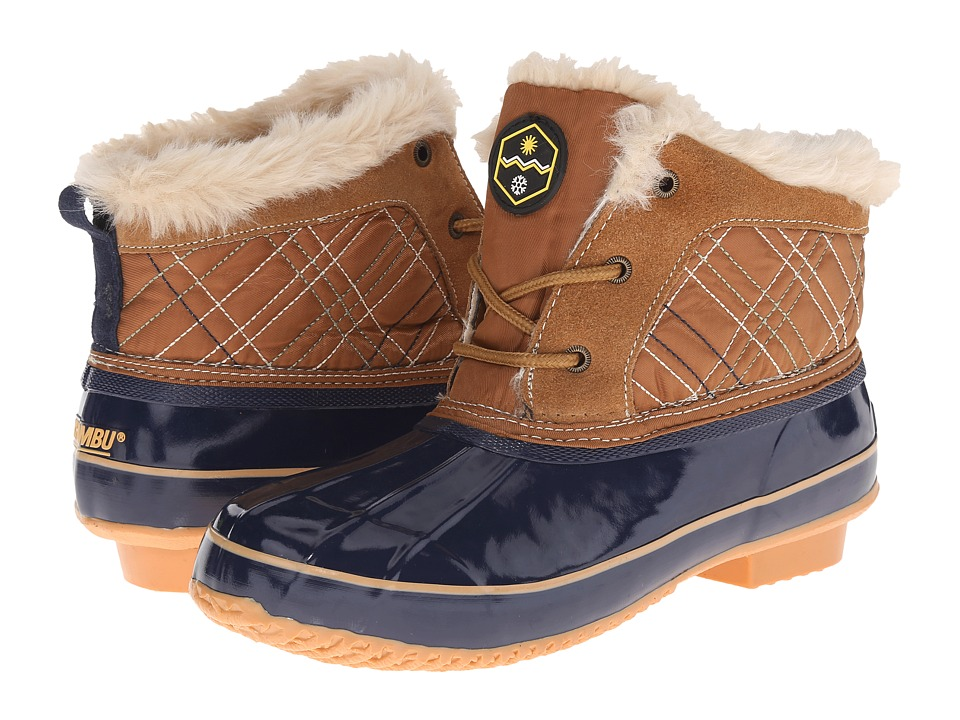 Khombu Jas (Tan/Navy) Women