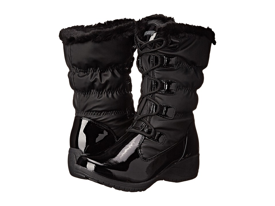 Khombu - Anne (Black Patent) Women's Boots
