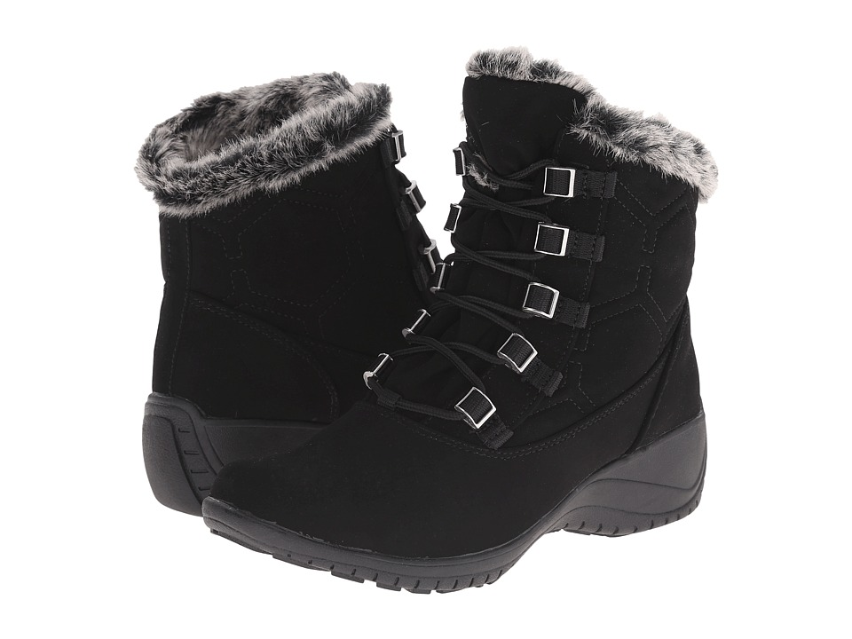 Khombu - Annie (Black) Women's Boots