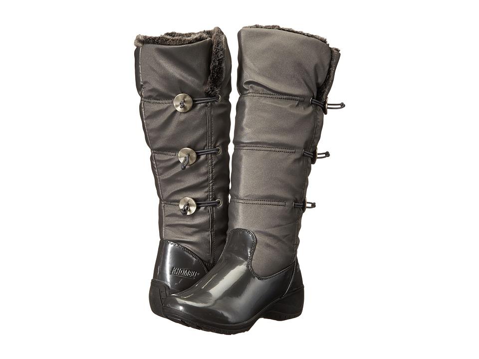 Khombu - Abigail (Pewter Patent Combo) Women's Boots
