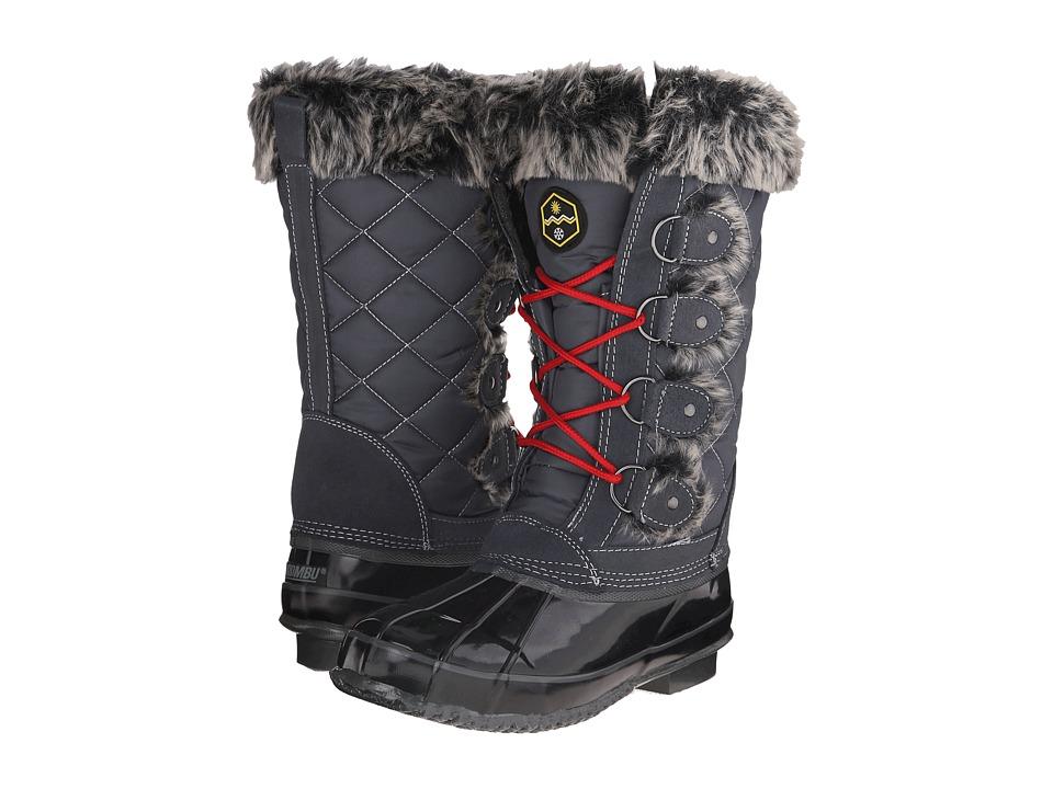 Khombu - Jandice (Grey) Women's Boots
