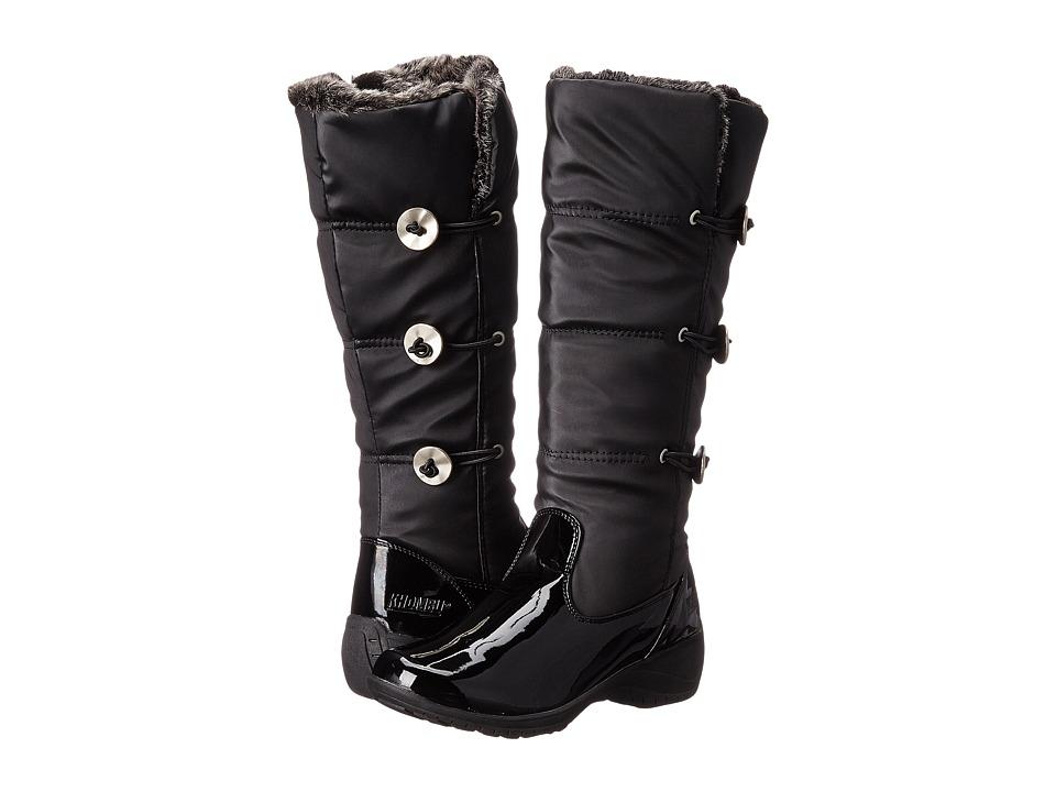 Khombu - Abigail (Black Patent Combo) Women's Boots