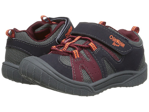 OshKosh - Horo-B (Toddler/Little Kid) (Navy/Burgundy) Boy's Shoes