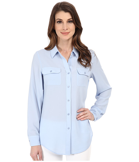 Pendleton - Double Pocket Blouse (Kentucky Blue) Women