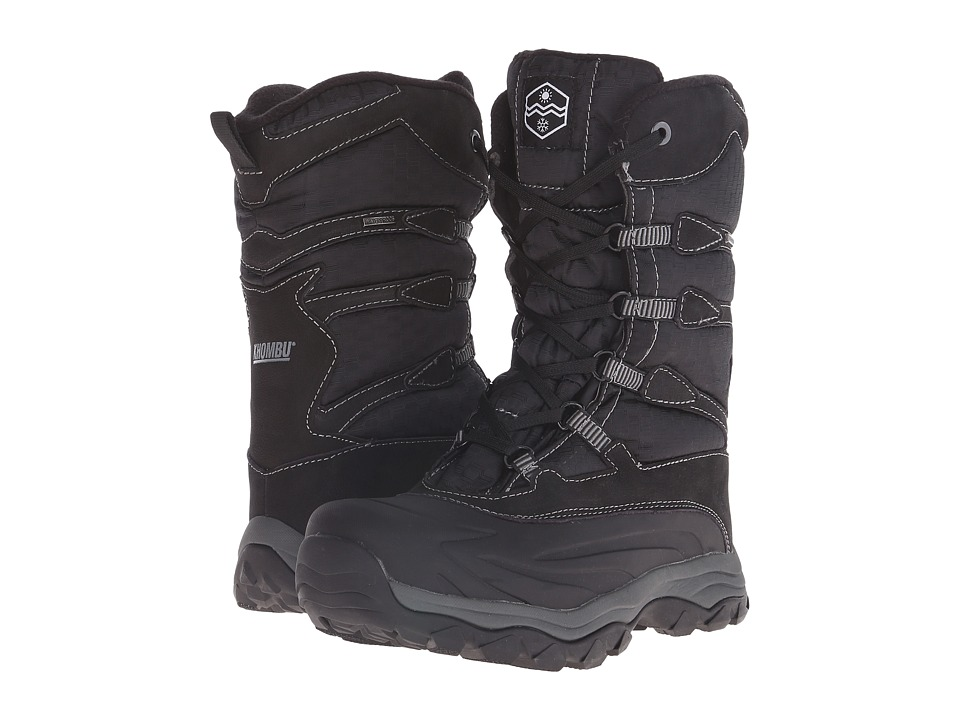 Khombu - Fred (Black/Grey) Men's Boots
