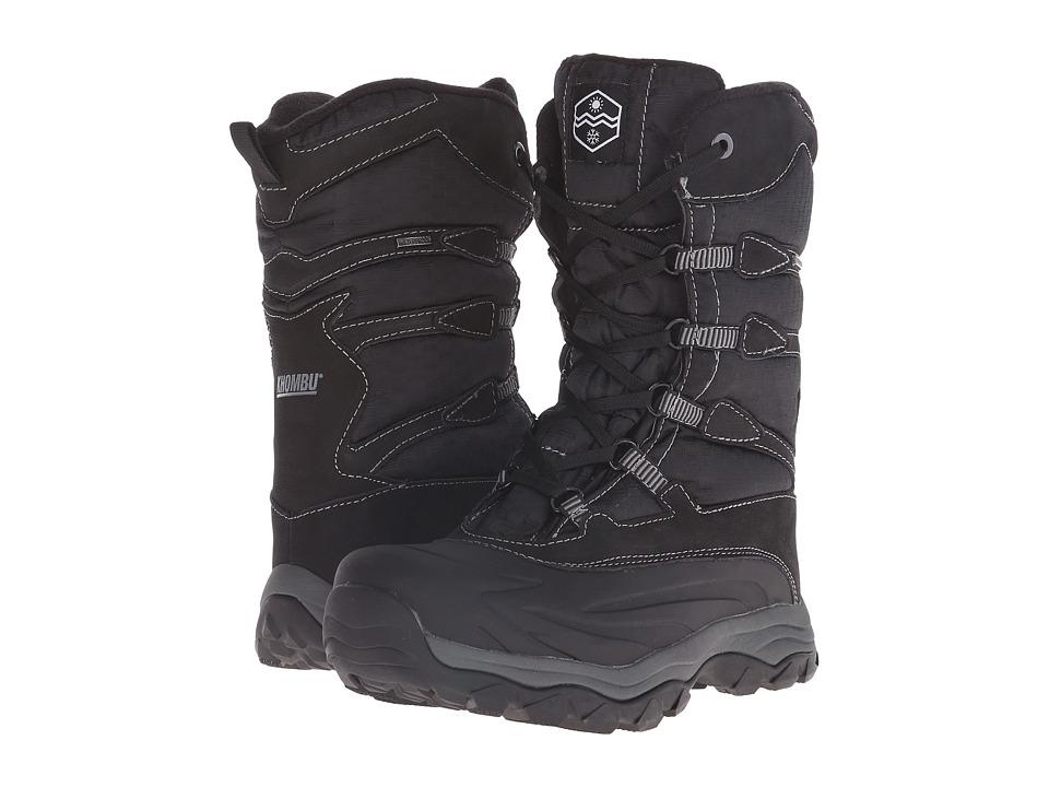 Khombu - Fred (Black/Grey) Men's Boots