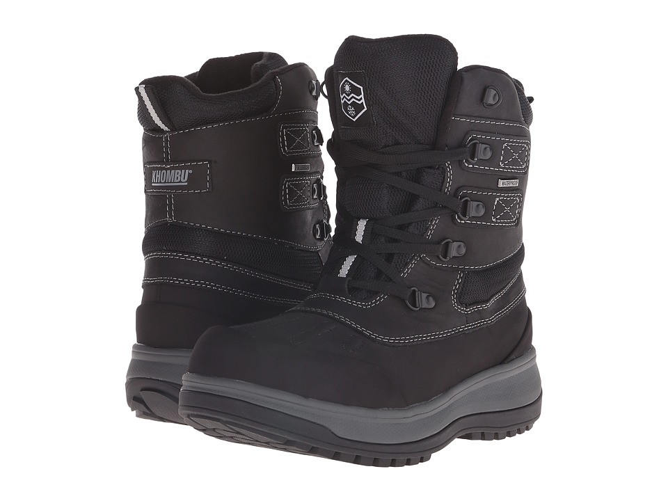 Khombu - Balance (Black) Men's Boots