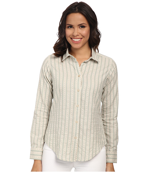Pendleton - Classic Shirt (Vanilla Dobby Stripe) Women's Clothing