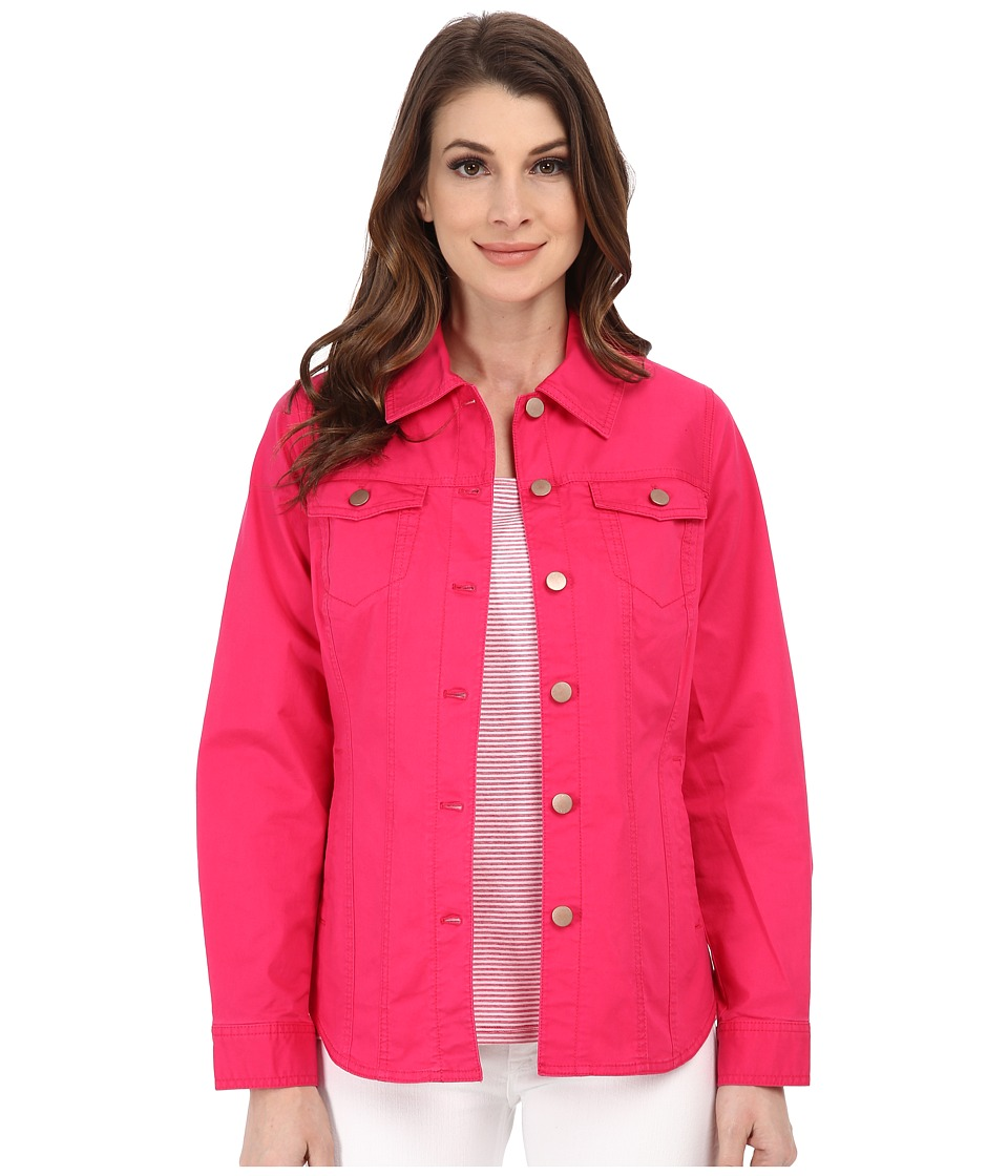 Pendleton - Cassie Jacket (Cherry Pink Washed Twill) Women's Coat