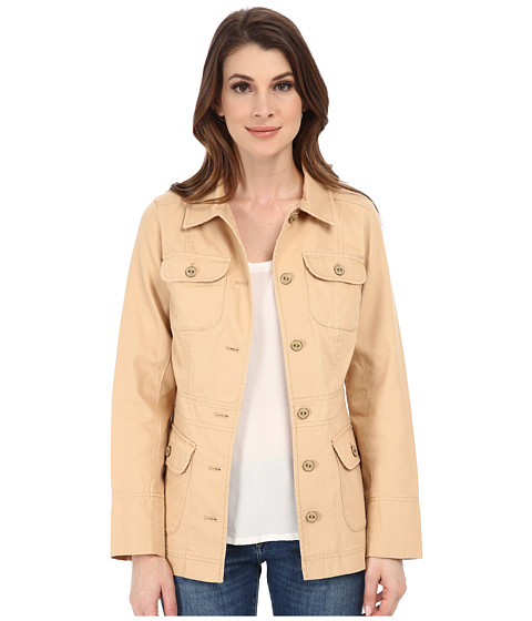 Pendleton - Arlington Jacket (Spring Khaki Canvas) Women