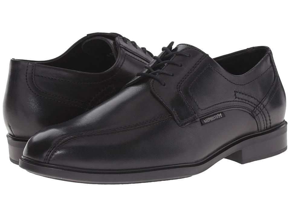 Mephisto - Fabio (Black Crust) Men's Shoes