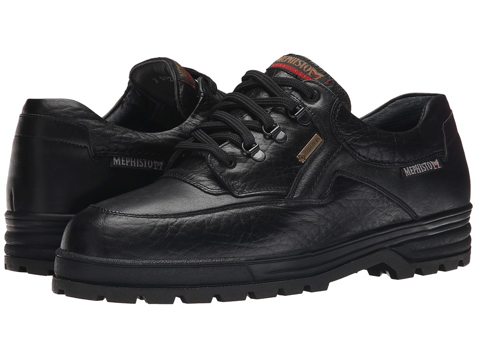 Mephisto - Barracuda (Black Grain/Smooth) Men's Shoes