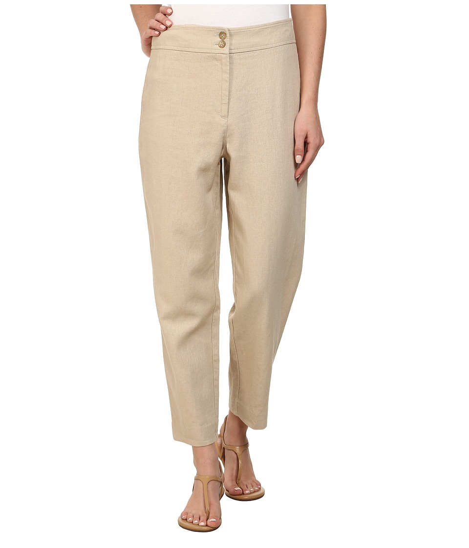 Pendleton - Tradewind 7-Day Capris (Oxford Tan Linen Blend) Women