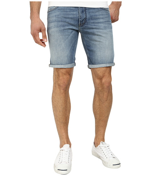 French Connection - Destroyer Denim Reg Shorts in Bleached Out (Bleached Out) Men's Shorts
