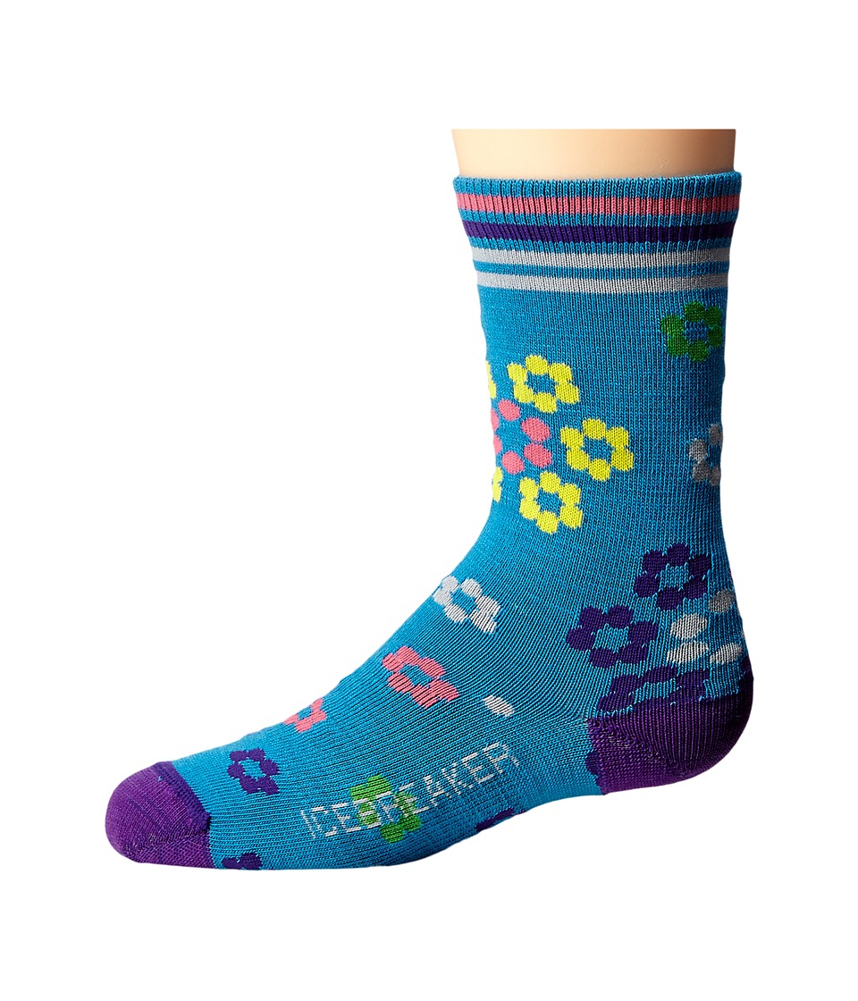 Icebreaker - Lifestyle Ultra Light Crew Fruitloop (Toddler/Little Kid/Big Kid) (Cruise) Crew Cut Socks Shoes