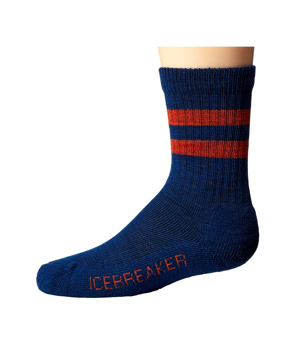 Icebreaker - Hike Light Crew (Toddler/Little Kid/Big Kid) (Largo) Crew Cut Socks Shoes