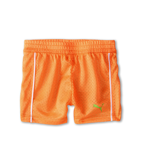 Puma Kids - Active Shorts (Infant) (Orange Pop) Girl