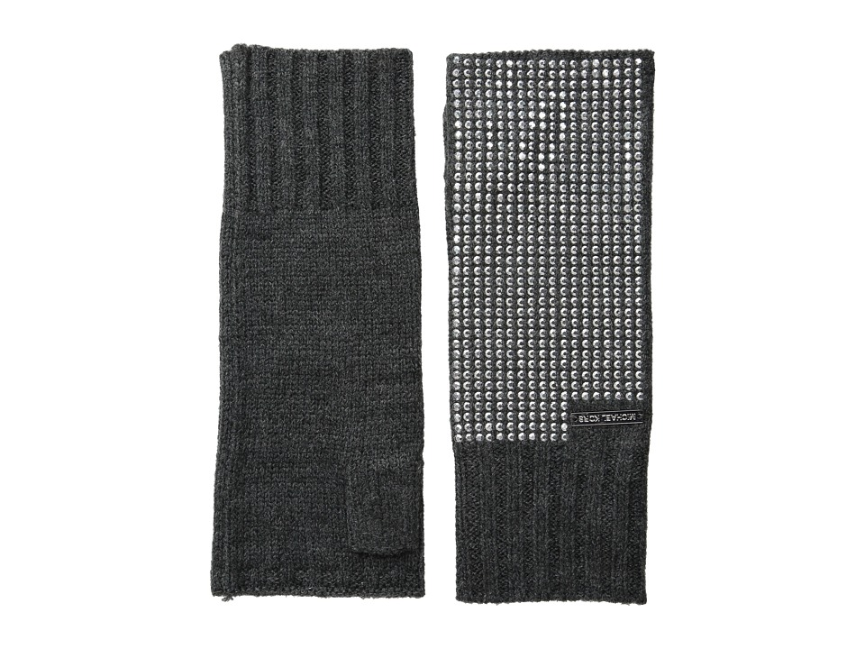 MICHAEL Michael Kors - Heat Seal Studded Armwarmer (Derby/Polished Nickel) Extreme Cold Weather Gloves