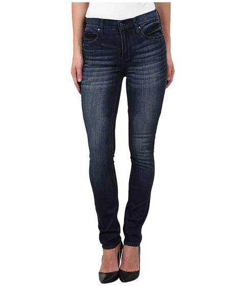DKNY Jeans - Manhattan Highrise in Plush Navy Wash (Plush Navy Wash) Women