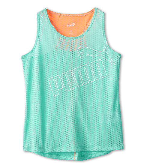 Puma Kids - Forever Faster Tank Top (Big Kids) (Aruba Blue) Girl's Sleeveless