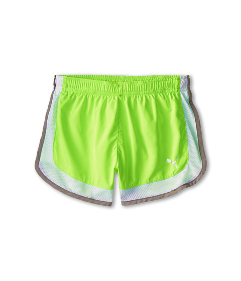 Puma Kids - Athletic Shorts (Big Kids) (Kite Green) Girl's Shorts