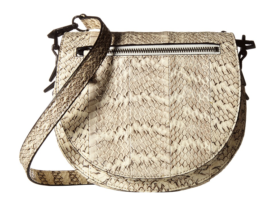 Rebecca Minkoff - Astor Saddle Bag (Cream) Handbags