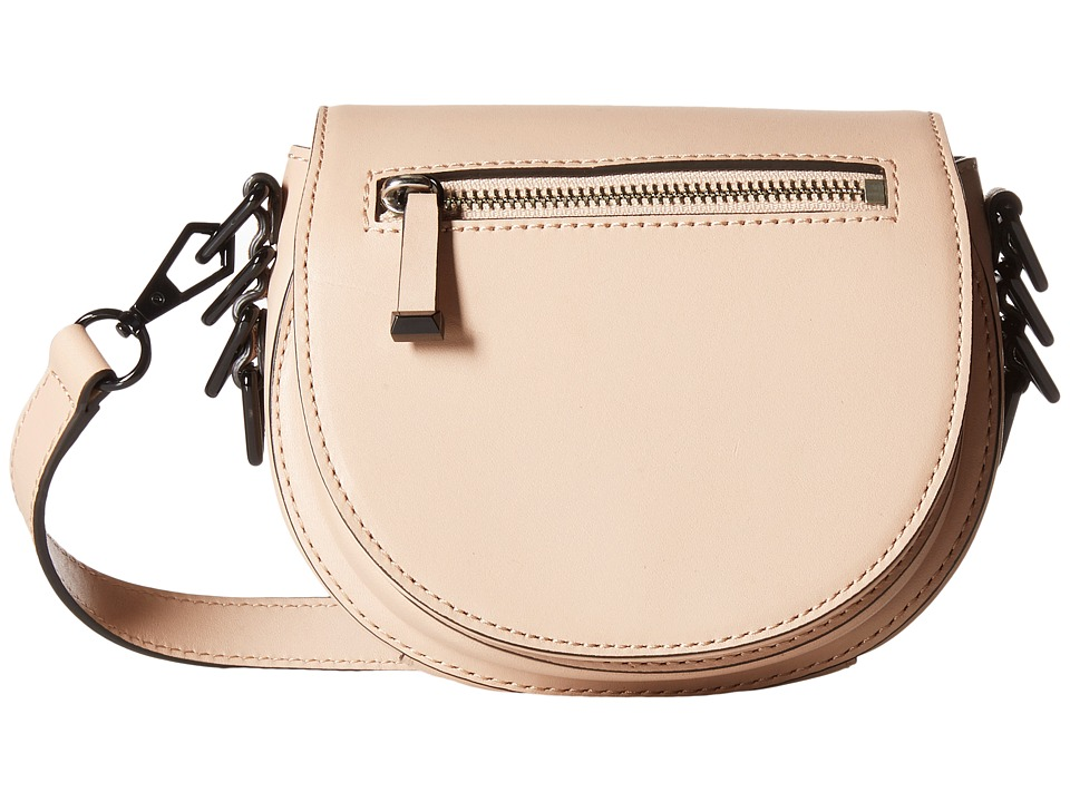 Rebecca Minkoff - Small Astor Saddle Bag (Latte) Handbags