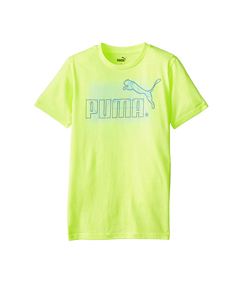 Puma Kids - Drawing Board Tee (Big Kids) (Acid Yellow) Boy's T Shirt