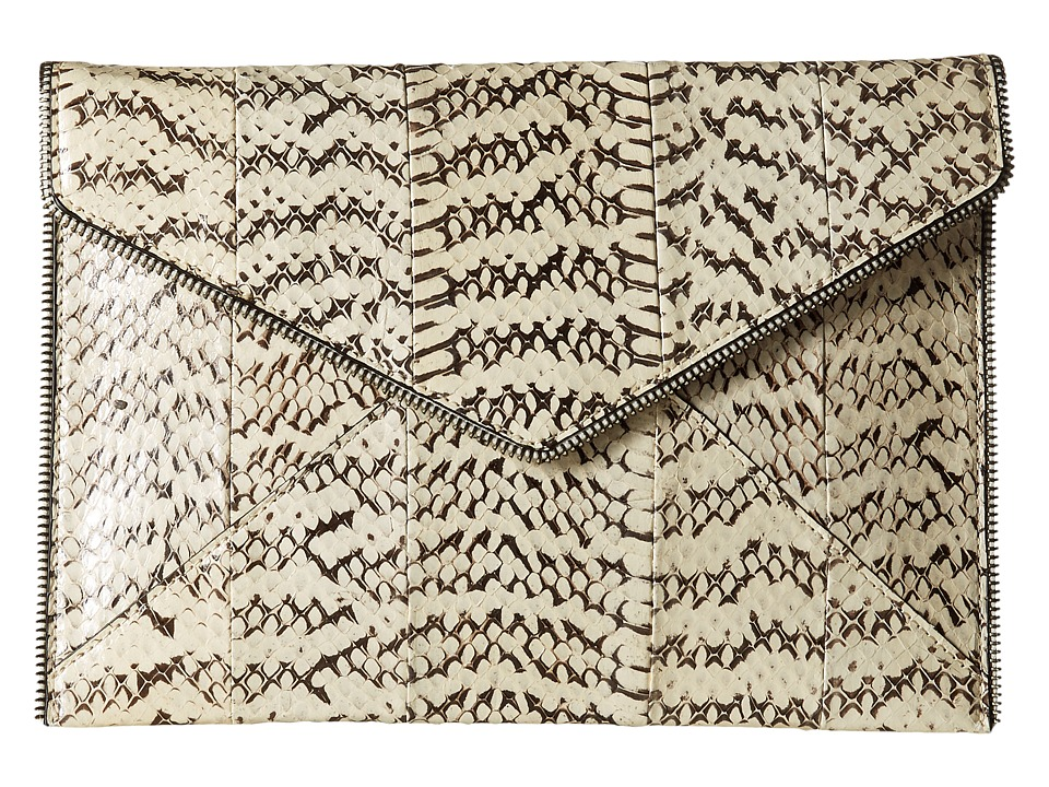 Rebecca Minkoff - Leo Clutch (Cream) Clutch Handbags