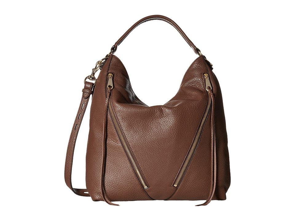 Rebecca Minkoff - Moto Hobo (Chocolate) Hobo Handbags