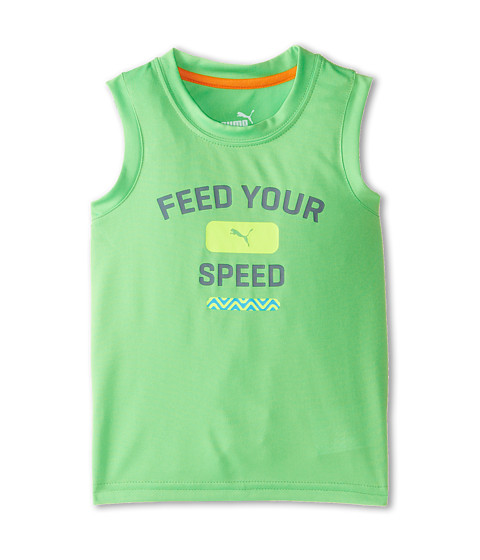 Puma Kids - Core Muscle Top (Toddler) (Screeming Green) Boy