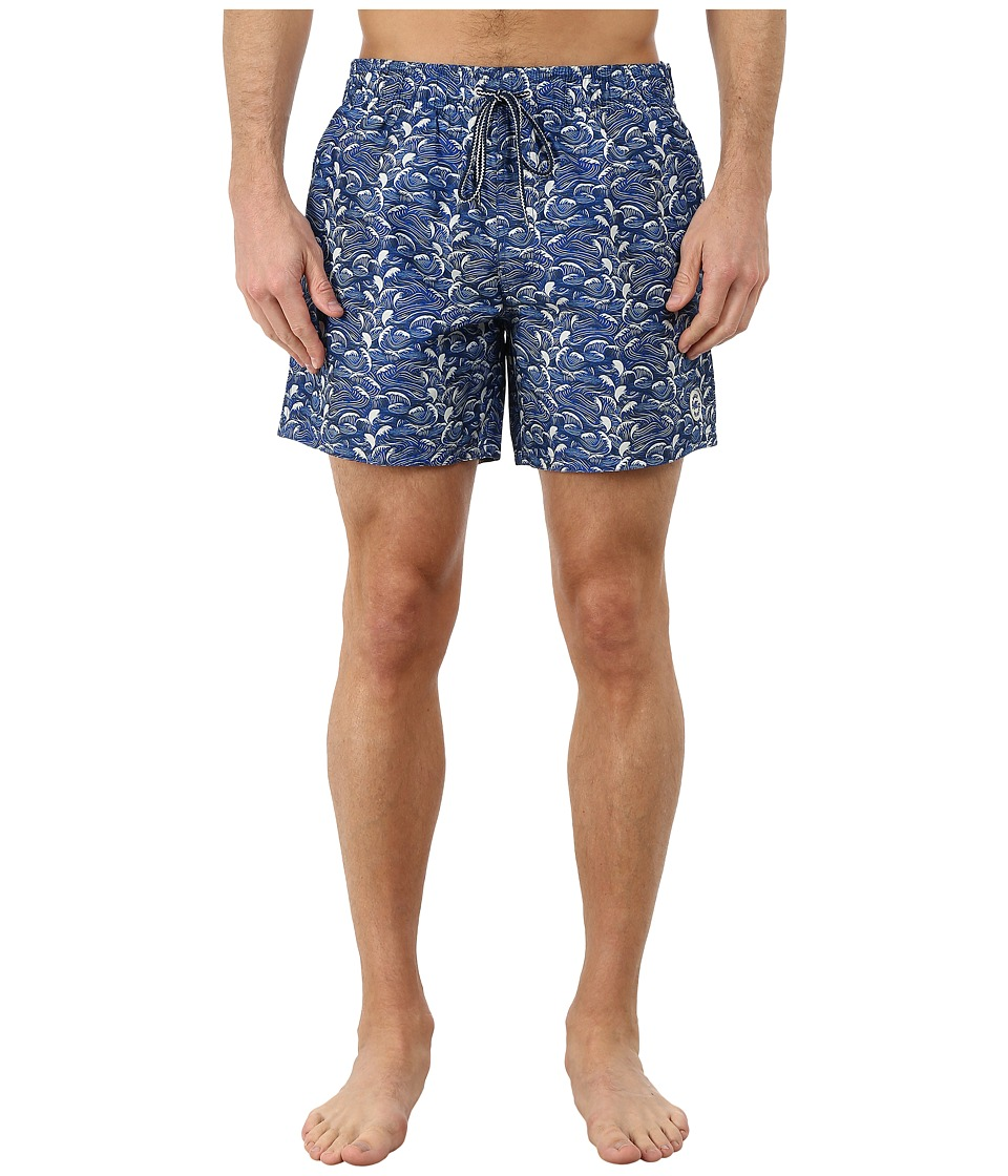 Ted Baker - Tanwell Wave Print Shortti (Blue) Men
