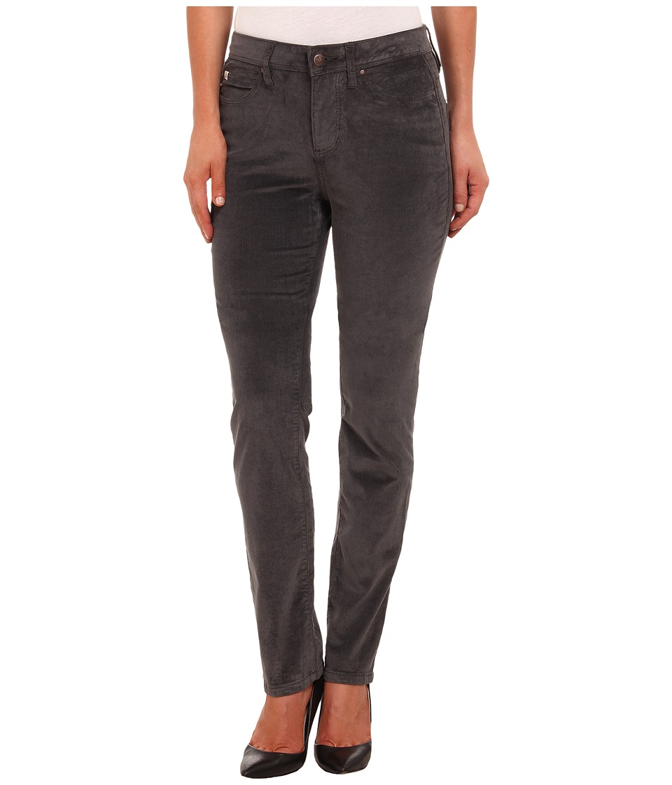 Christopher Blue - Madison Juku High-Rise Straight Land O' Lakes Cord (Graphite) Women's Casual Pants