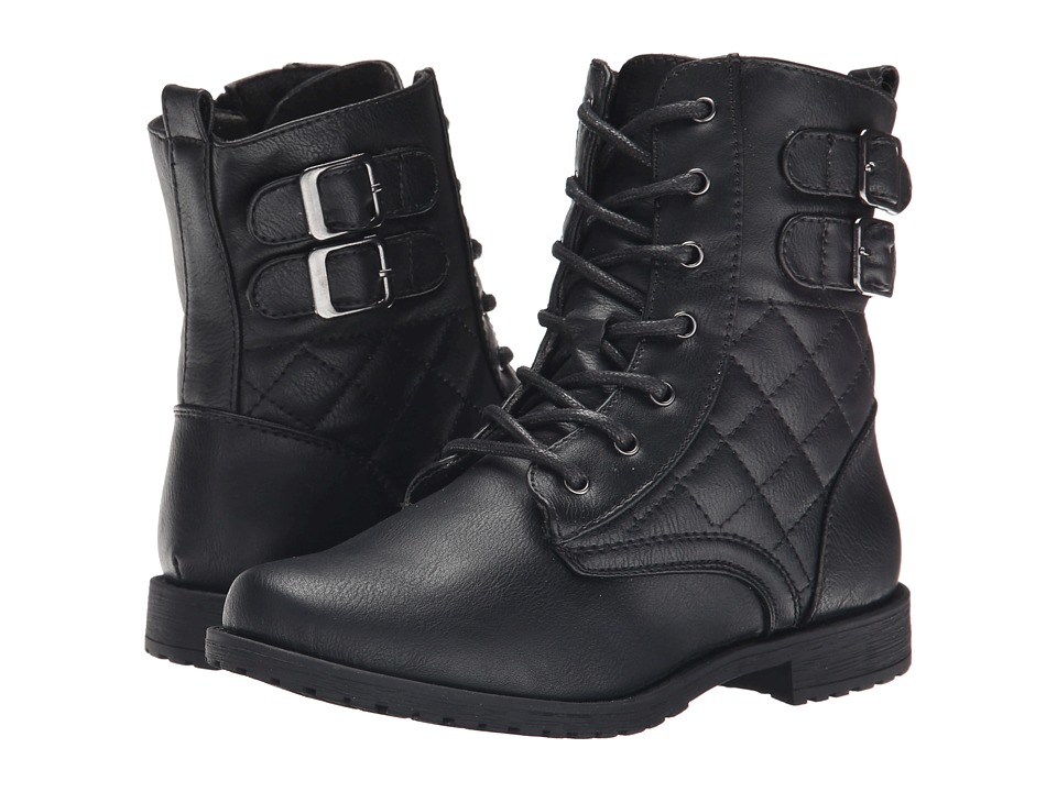Rachel Kids - Apollo (Little Kid/Big Kid) (Black Smooth) Girls Shoes