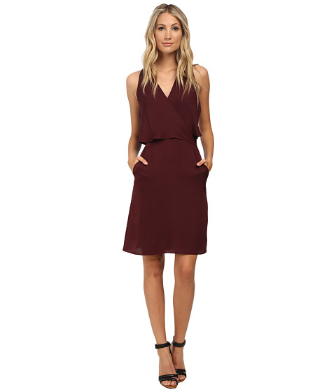 Theory - Osteen Dress (Cassis) Women