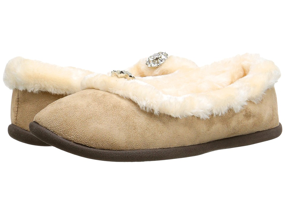 Daniel Green - Clarice (Tan) Women's Slippers